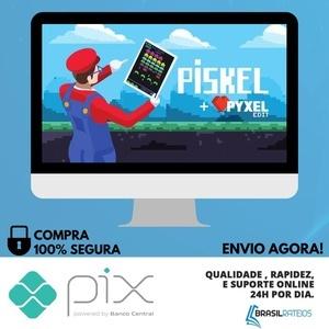 Aprenda Pixel Art com passos Simples no Piskel - Yuri Medeiros